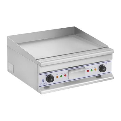 Gładka płyta grillowa grill elektryczny do smażenia 60cm 400V Royal Catering RCG 60S