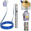 Pompa głębinowa do studni głębinowej MSW 6000 L/godz. do 72m