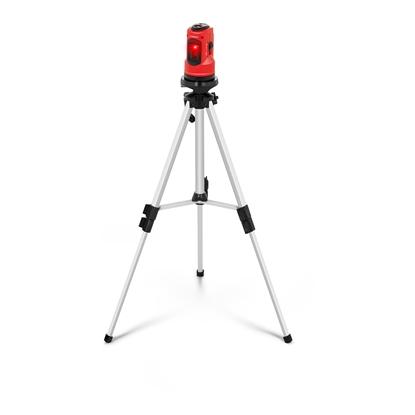 Laser liniowy krzyżowy budowlany - poziomica laserowa 10m + WALIZKA
