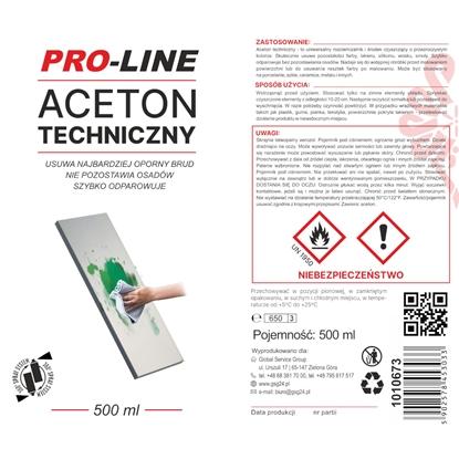 Aceton techniczny 100% w sprayu PRO-LINE spray 500ml