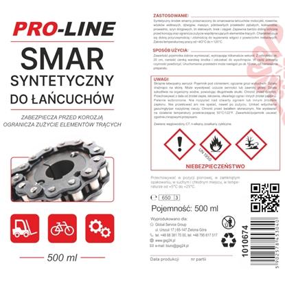 Syntetyczny smar do łańcuchów PRO-LINE spray 500ml