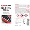 Silikon smar w sprayu do pielegnacji uszczelek PRO-LINE 500ml