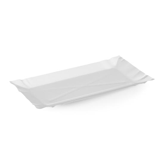 Tacka papierowa jednorazowa EKO 11x20cm GRILL FRYTKI - 250szt