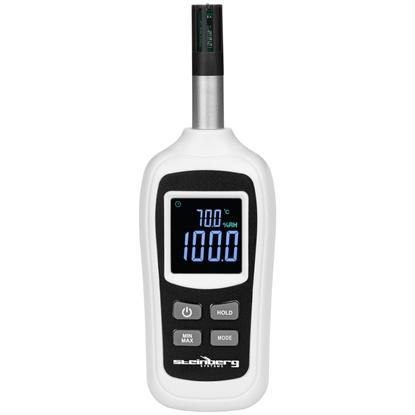Cyfrowy termometr wilgotnościomierz LCD zakres -20 do 70C