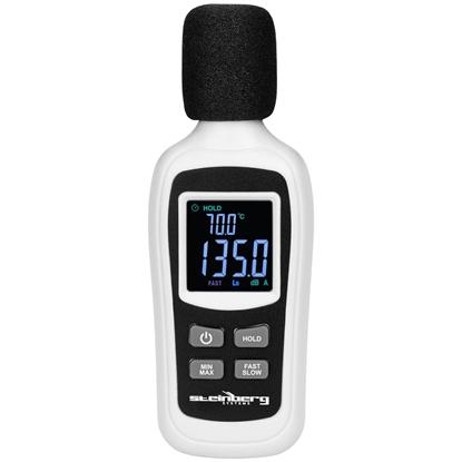 Cyfrowy miernik natężenia dźwięku decybelomierz 35-135 dB