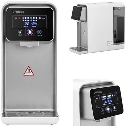 Dystrybutor dozownik wrzątku gorącej wody z wyświetlaczem 4 filtry LED 5L 2200W