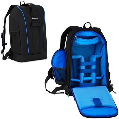 Plecak fotograficzny na 1 aparat 5 obiektywów akcesoria do 30 kg