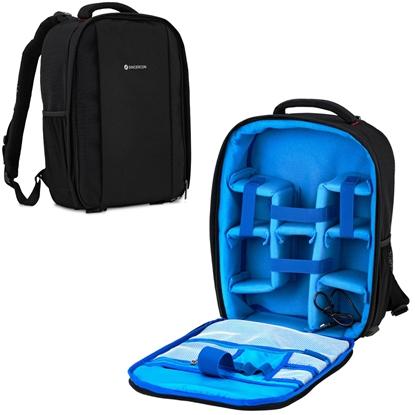 Plecak fotograficzny na 2 aparaty 5 obiektywów akcesoria do 30 kg