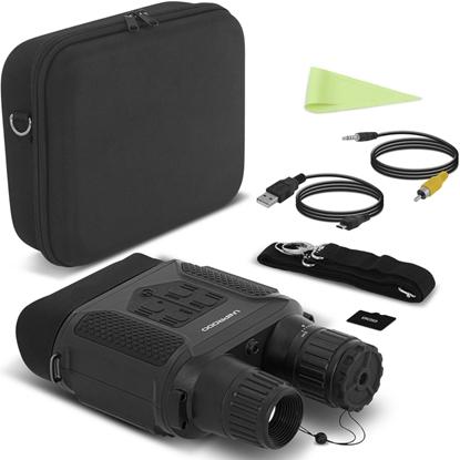 Noktowizor do 400m z kamerą cyfrową 7x LCD microSD
