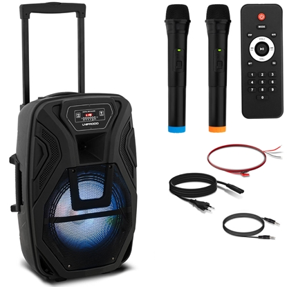 Głośnik bezprzewodowy Bluetooth 2 mikrofony 40W