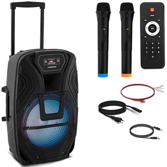 Głośnik bezprzewodowy Bluetooth 2 mikrofony 50W