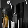 Dozownik dyspenser do wina z chłodziarką 7-18C 2 butelki - czarny