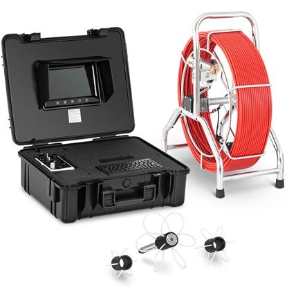 Endoskop kamera inspekcyjna LCD TFT 9'' śr. rur 70-300 mm dł. 60 m