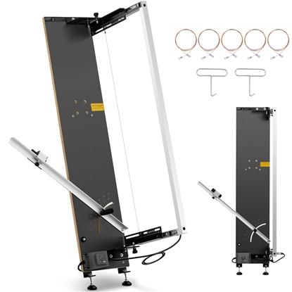 Maszyna nóż termiczny do cięcia styropianu stojąca ZESTAW 5 x drut 107 cm