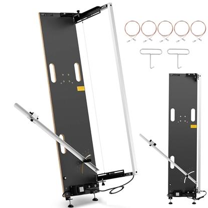Maszyna nóż termiczny do cięcia styropianu stojąca ZESTAW 5 x drut 130 cm