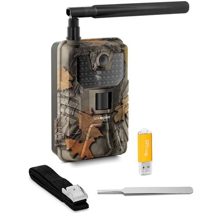Fotopułapka kamera leśna z czujnikiem ruchu 8MP F-HD 20m IR LED 4G LTE ANT