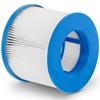 Wkład do filtra pompy do jacuzzi śr. 105 mm  wys. 87 mm - zestaw 6 szt.