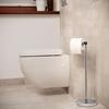 Stojak uchwyt na papier toaletowy wolnostojący podłogowy STAL