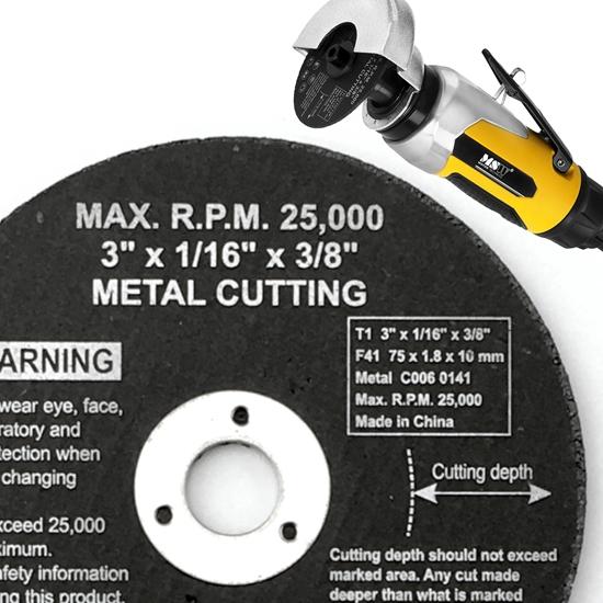Tarcza do szlifierki pneumatycznej MSW 75mm 3'' METAL