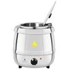 Elektryczny kociołek garnek do zupy 10 l stalowy