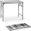 Stół ze stali nierdzewnej cateringowy składany 100 x 60 cm