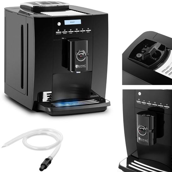 Ekspres do kawy ciśnieniowy ze spieniaczem mleka kawy LCD