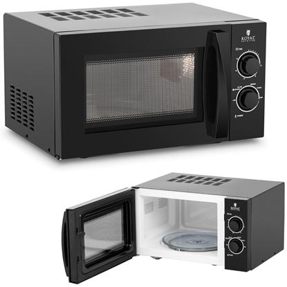 Kuchenka mikrofalowa mikrowela 20 l 900 W czarna