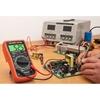 Multimetr miernik cyfrowy prądu AC/DC 1000V test hFE LCD