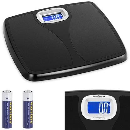Waga łazienkowa elektroniczna kg. lb. st do 180 kg