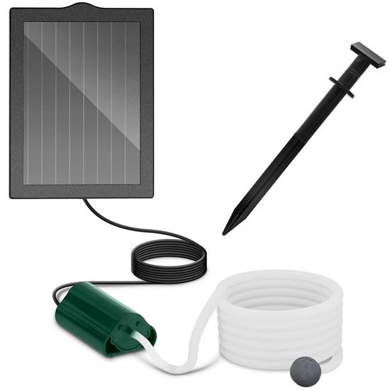 Pompa napowietrzająca do stawu solarna 120 l/h 1.2 W