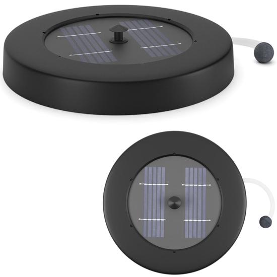 Pompa napowietrzająca do oczka wodnego stawu pływająca solarna 120 l/h 1.2 W