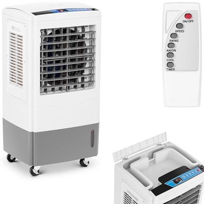 Klimatyzer ewaporacyjny domowy biurowy z pilotem 3w1 2000 m3/godz. 100 W