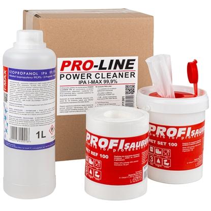 POWER CLEANER IPA zestaw do czyszczenia elektroniki optyki i monitorów PRO-LINE