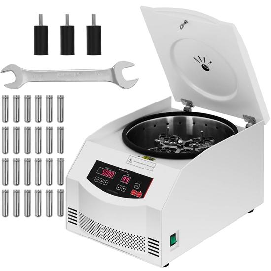 Profesjonalna wirówka laboratoryjna do osocza 5000 obr./min do 24 probówek 10 ml