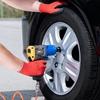 Klucz pneumatyczny udarowy do kół 1/2'' z nasadkami 8000 obr./min 1000 Nm ZESTAW