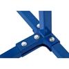 Stojak regał lakierniczy do zderzaków spojlerów 4-poziomowy dwustronny do 120 kg