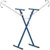 Stojak regał lakierniczy do zderzaków spojlerów 4-poziomowy dwustronny do 140 kg