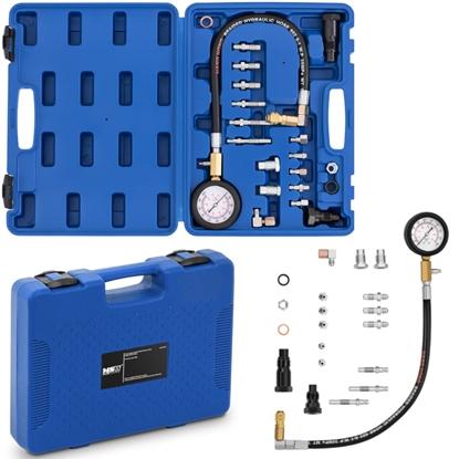 Tester miernik ciśnienia kompresji sprężenia silników Diesel 0-70 bar przewód 45 cm