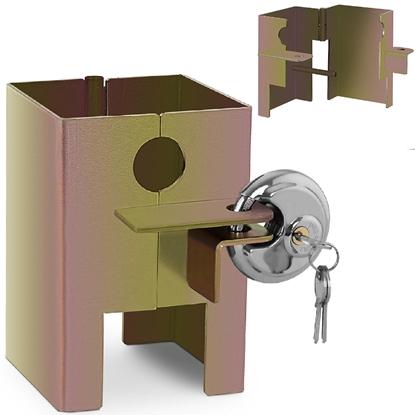 Blokada zabezpieczenie antykradzieżowe do zaczepu kulowego przyczepy STAL