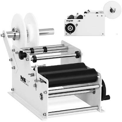 Etykieciarka maszyna etykietująca do butelek ręczna 20-40 etykiet / min
