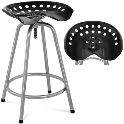 Hoker taboret stołek barowy industrialny 714-188 mm do 150 kg