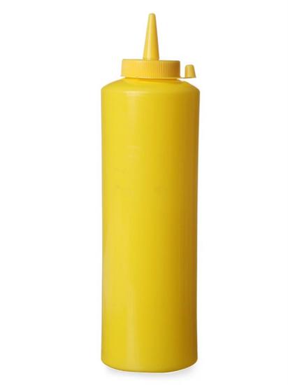 Dyspenser pojemnik do sosów zimnych 0,7l. żółty - Hendi 557907
