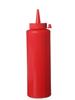 Dyspenser pojemnik do sosów zimnych 0,2l. czerwony - Hendi 558010