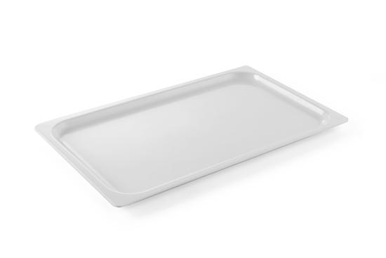 Taca do prezentacji dań i żywności 530x325mm GN 1/1 biała - Hendi 561607