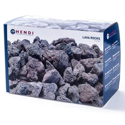 Kamień lawowy do grilla gazowego 3kg - Hendi 152706