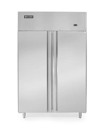 Szafa chłodnicza lodówka gastronomiczna 2-drzwiowa Profi Line 900L - Hendi 233122