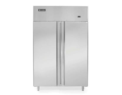 Szafa mroźnicza zamrażarka gastronomiczna 2-drzwiowa Profi Line 900L - Hendi 233139
