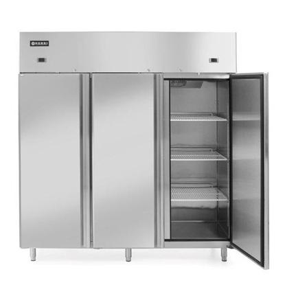 Szafa chłodniczo-mroźnicza lodówko-zamrażarka Profi Line 3-drzwiowa 890 + 420L - Hendi 233153