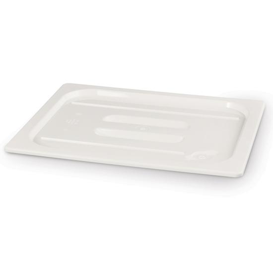 Pokrywka z białego poliwęglanu do pojemników GN 1/4 - Hendi 862988