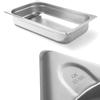 Pojemnik GN 1/1 stalowy Kitchen Line wys. 100 mm - Hendi 806135